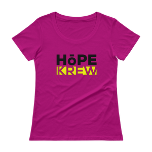 Hope Krew Ladies' Scoopneck Tee Shirt