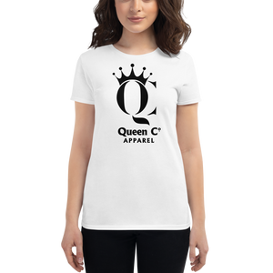 Queen Co Apparel - QC - Women's Short Sleeve Tee Shirt