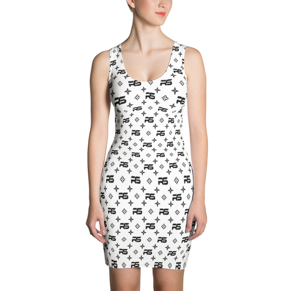 Renae Star Louis Trez B&W Dress