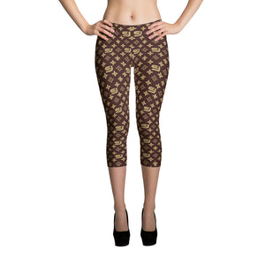 "Louis Trez ""Classic"" by Street Jammz - Capri Leggings"
