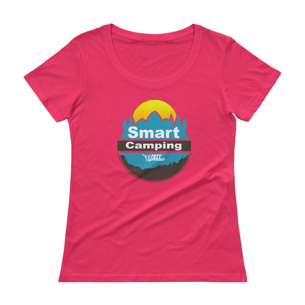 The Smart Camping Ladies' Scoopneck Tee Shirt - thesmartcamping.com