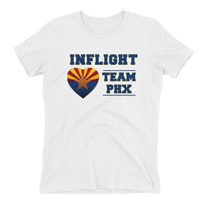 InFlight - Team Phx - Women's boyfriend t-shirt