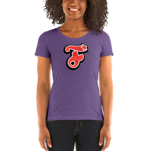 Load image into Gallery viewer, F for Friends - Ladies' short sleeve t-shirt