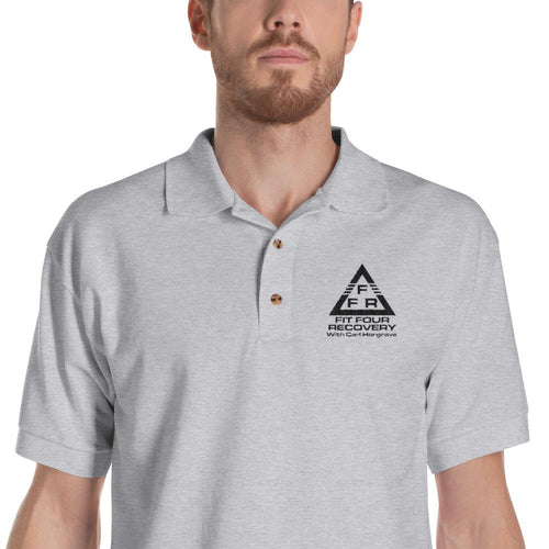 FFR - Fit Four Recovery - Men's Embroidered Polo Shirt