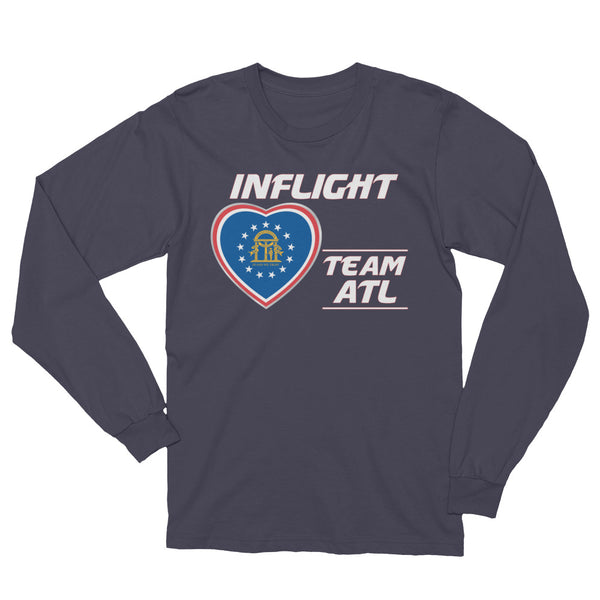 SWA - InFlight – Team ATL Long Sleeve Men's Tee Shirt