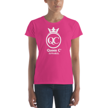 Load image into Gallery viewer, Queen Co Apparel - QCrown - Women's Short Sleeve Tee Shirt