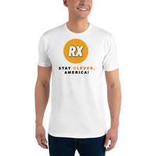 Load image into Gallery viewer, Clever RX - Stay Clever, America! - Men's Tee Shirt
