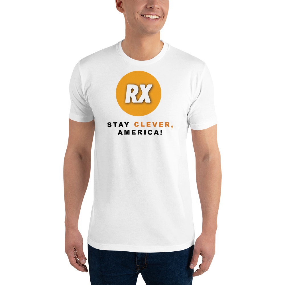 Clever RX - Stay Clever, America! - Men's Tee Shirt