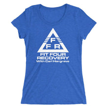 Load image into Gallery viewer, FFR - Fit Four Recovery - Ladies' Short Sleeve Tee Shirt