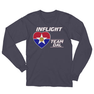 SWA - InFlight – Team DAL Long Sleeve Men's Tee Shirt