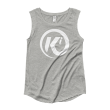 Load image into Gallery viewer, Eye Am Ki Ladies' Cap Sleeve Tee Shirt