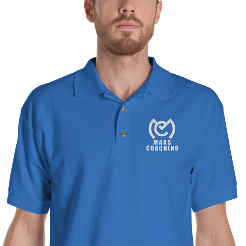 MARS Coaching Embroidered Polo Shirt