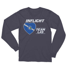 Load image into Gallery viewer, SWA - InFlight – Team LAS Long Sleeve Men's Tee Shirt