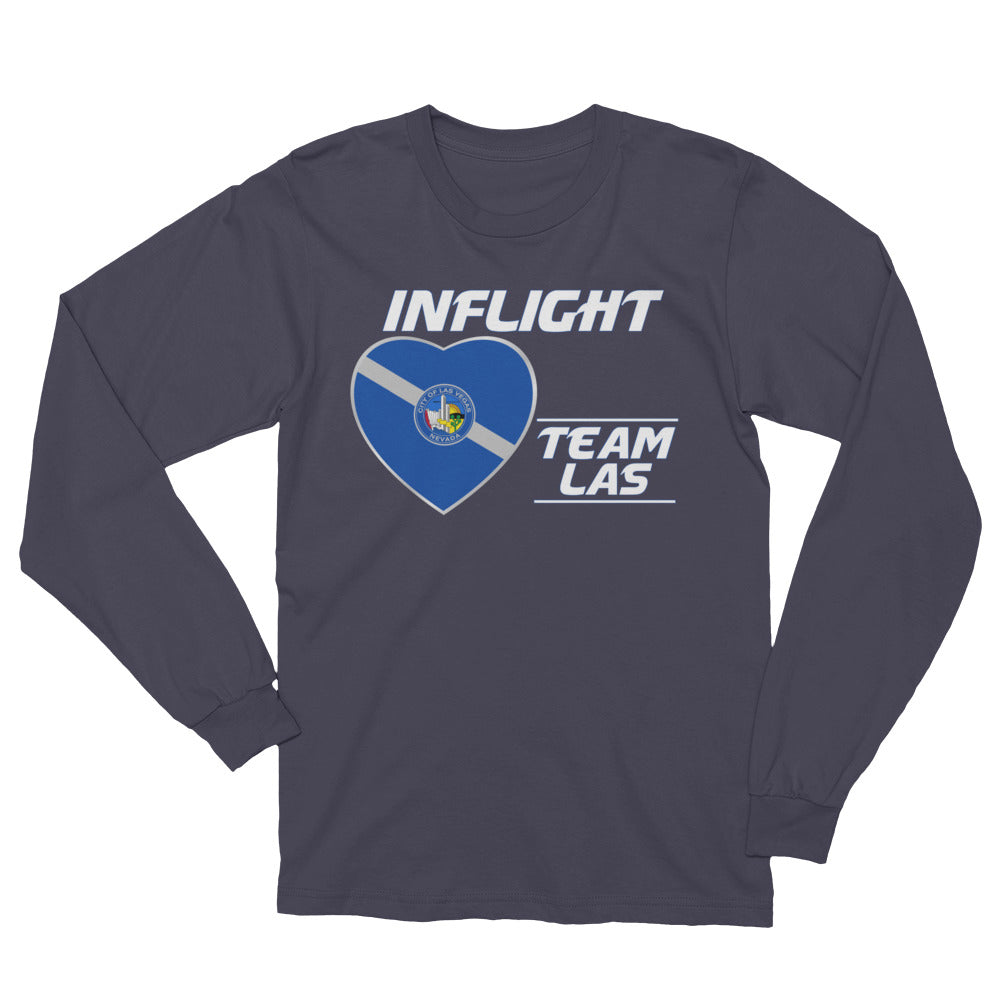 SWA - InFlight – Team LAS Long Sleeve Men's Tee Shirt
