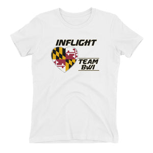 SWA - InFlight - Team BWI Women's Boyfriend Tee