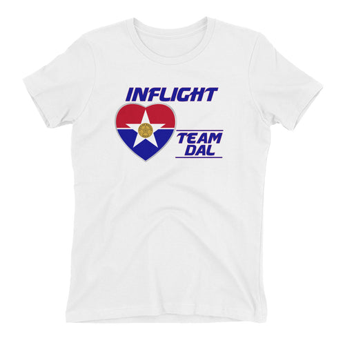SWA - InFlight - Team DAL Women's Boyfriend tee