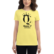 Load image into Gallery viewer, Queen Co Apparel - QC - Women's Short Sleeve Tee Shirt
