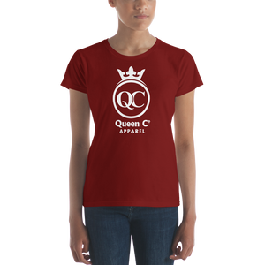 Queen Co Apparel - QCrown - Women's Short Sleeve Tee Shirt