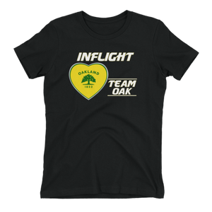 SWA - InFlight – Team OAK Women's Boyfriend tee