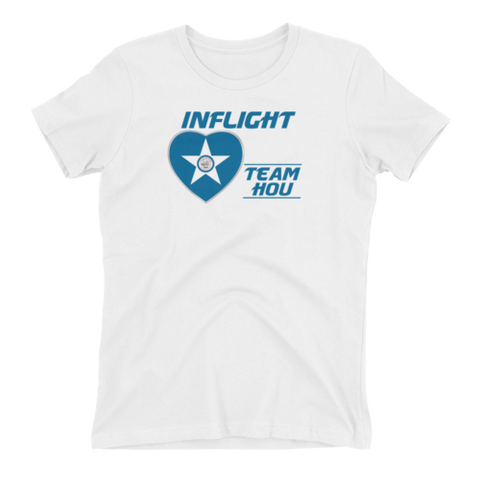 SWA - InFlight – Team Houston (HOU) Women's Boyfriend tee