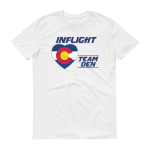 SWA - InFlight – Team DEN Men's T-Shirt