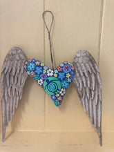 Load image into Gallery viewer, Tropical Heart with Wings for Wall