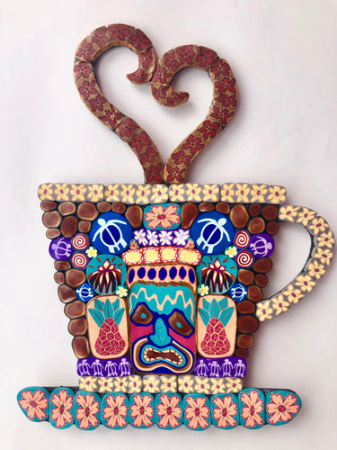 Lovely Tiki Coffee Cup