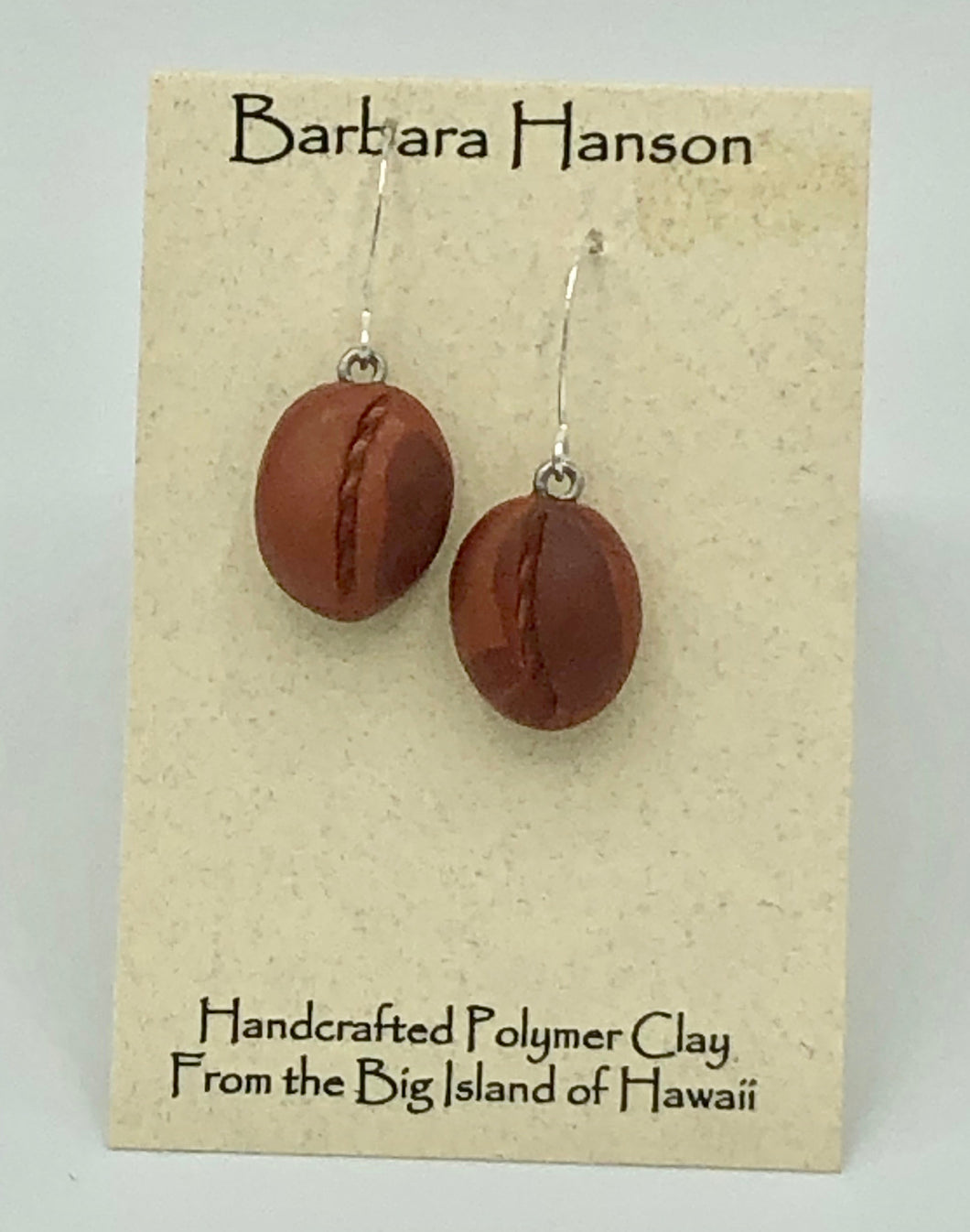 Coffee Bean Earring