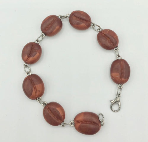 Coffee Bean Bracelet