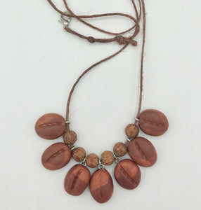 Coffee Bean Casual Necklace