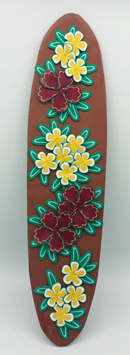 Surfboard with Lei