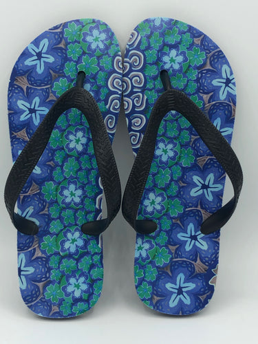 Dolphin Back Slippers
