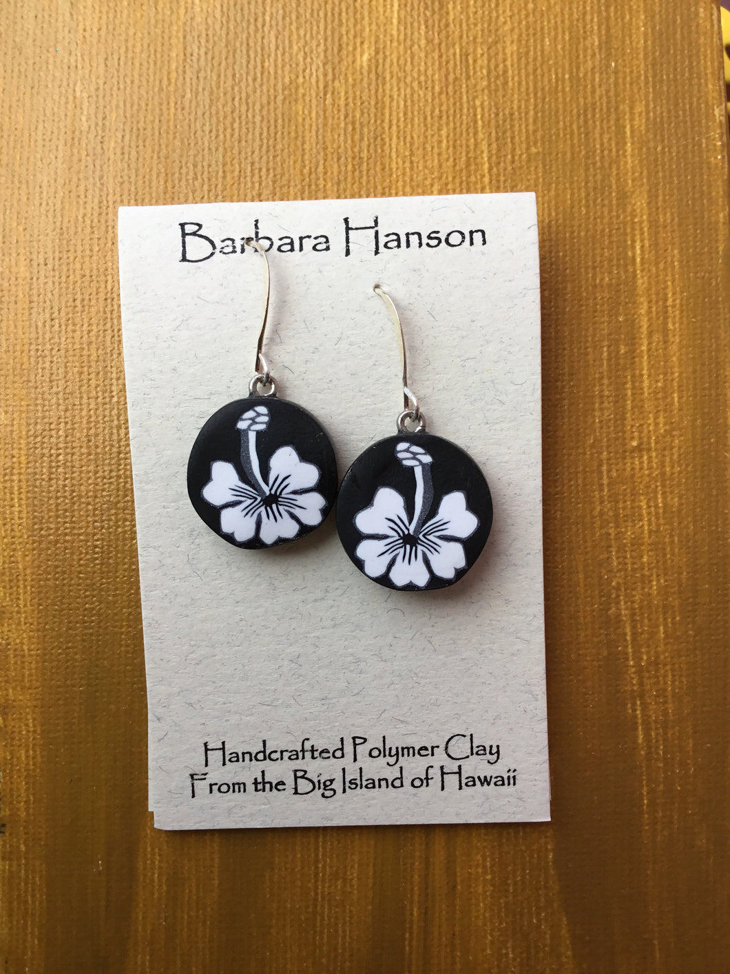 Hibiscus Slice earrings