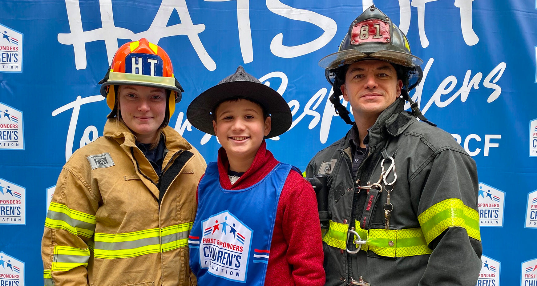 David Donahue & the First Responders Children's Foundation