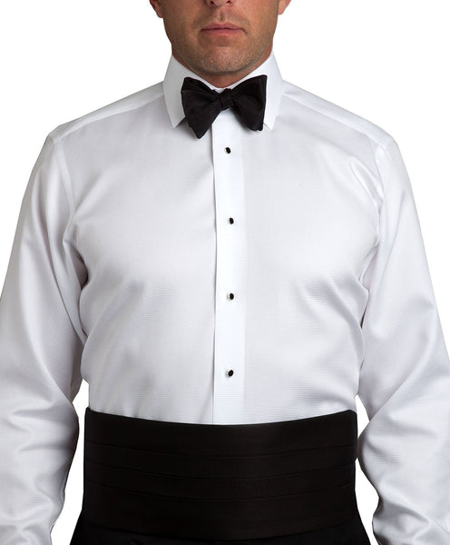 CH110001 | Black Faille Self-tie Bow Tie & Cummerbund Set