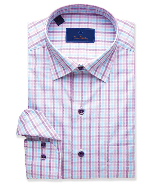 Textured Check Sport Shirt