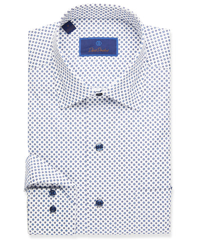 Mini Printed Neat Sport Shirt