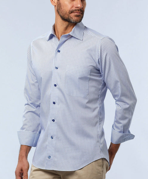 CMCSM1861443 | Mini Twill Plaid Sport Shirt