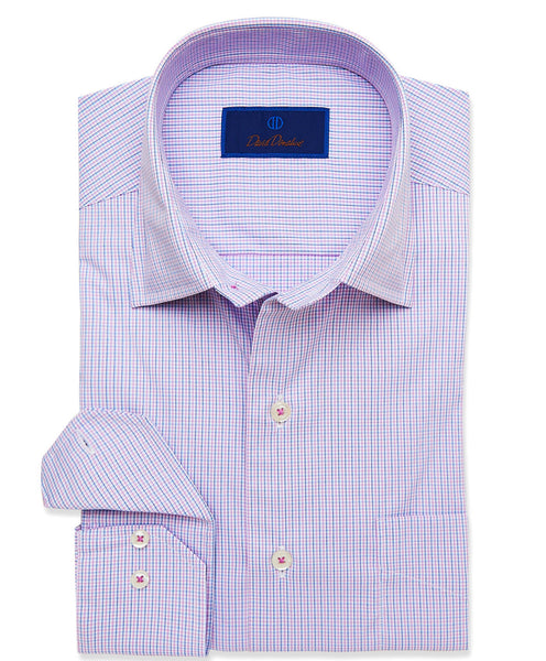 CMCSM3648652 | Berrry Micro Check Performance Sport Shirt