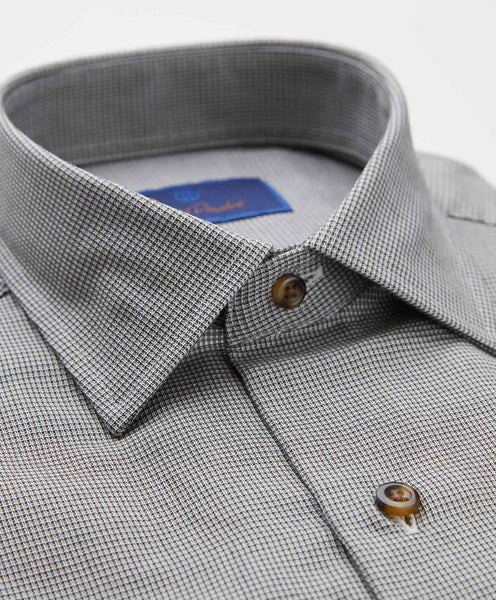 Micro Houndstooth Sport Shirt