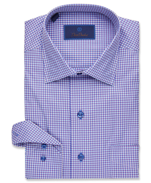 Ground Modern Gingham Sport Shirt