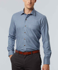 Jaspé Twill Check Sport Shirt