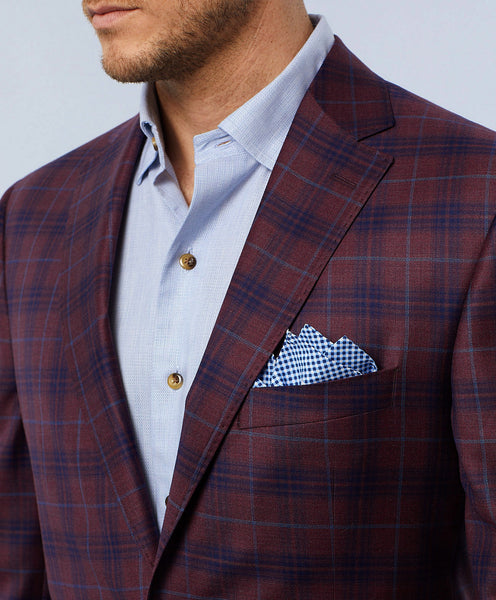 Connor Windowpane Sport Coat