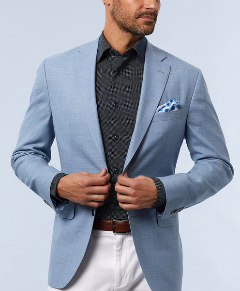 Ashton Super 140's Sky Sport Coat