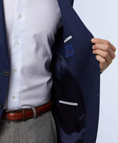 Aiden Super 140's Navy Sport Coat