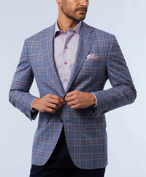 Ashton Super 120's Windowpane Sport Coat