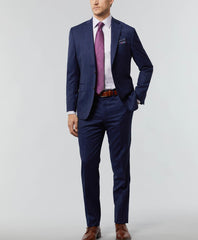 Super 140's Windowpane Wool Suit