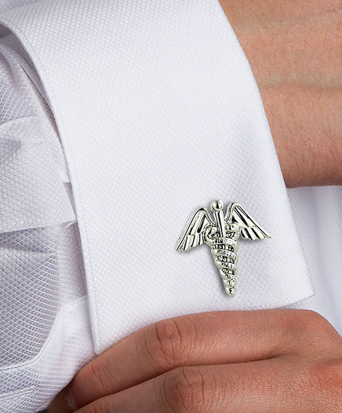 H95003502 | Sterling Silver Medical Cufflinks