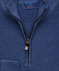 Extrafine Ice Merino Quarter Zip Sweater