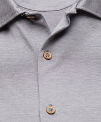 Mercerized Cotton Pique  Polo
